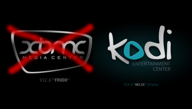 XBMC evolves to Kodi